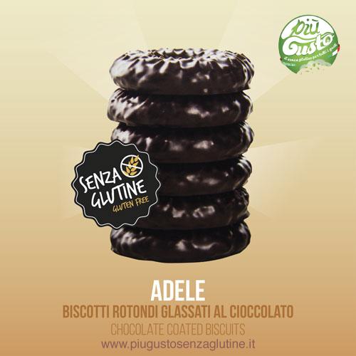 Adele biscotti ricoperti di cioccolato