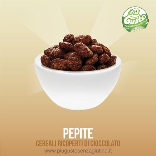 Cereali ricoperti di cioccolato  - Pepite