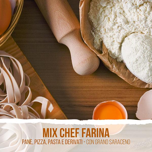 Mix chef con grano saraceno