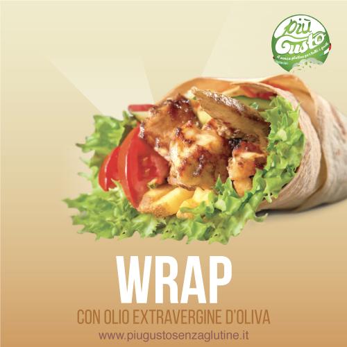 Wrap con olio extravergine di oliva