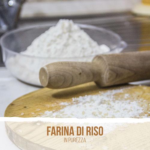 Farina di riso in purezza
