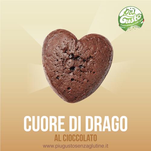 Cuore di drago al cioccolato
