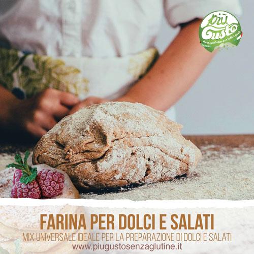 Farina universale per dolci e salati