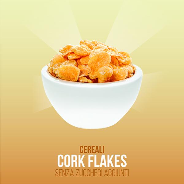 Corn Flakes senza zuccheri aggiunti